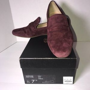 J. Crew Georgie Suede Penny Loafers Size 7.5
